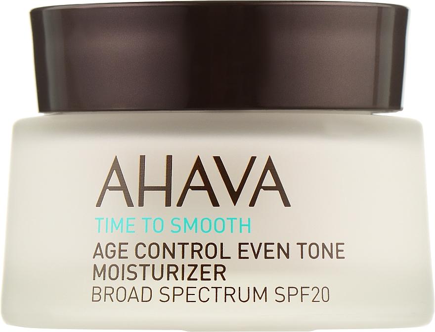 Крем омолаживающий, увлажняющий, выравнивающий тон кожи SPF 20 - Ahava Age Control Even Tone Moisturizer Broad