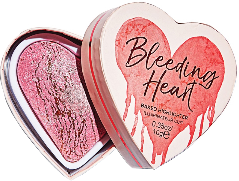Хайлайтер для лица - I Heart Revolution Bleeding Heart Highlighter