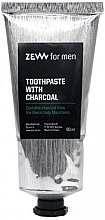 Духи, Парфюмерия, косметика Угольная зубная паста - Zew For Men Toothpaste With Charcoal