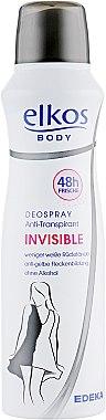 РАСПРОДАЖА Дезодорант для женщин - Elkos Body Deospray Invisible *