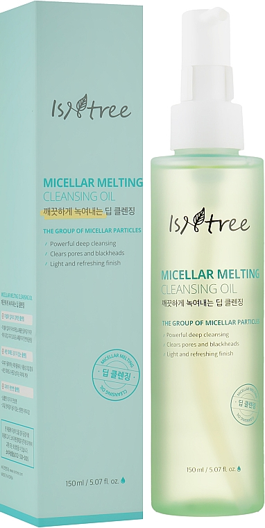 Мицеллярное гидрофильное масло - IsNtree Micellar Melting Cleansing Oil