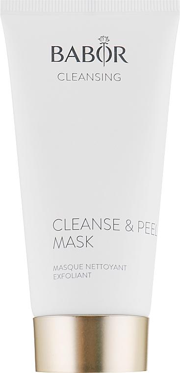 Маска-пилинг для глубокого очищения пор - Babor Cleanse & Peel Mask