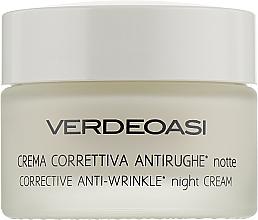 Духи, Парфюмерия, косметика Ночной крем для коррекции морщин - Verdeoasi Anti-Wrinkles Night Cream Corrective