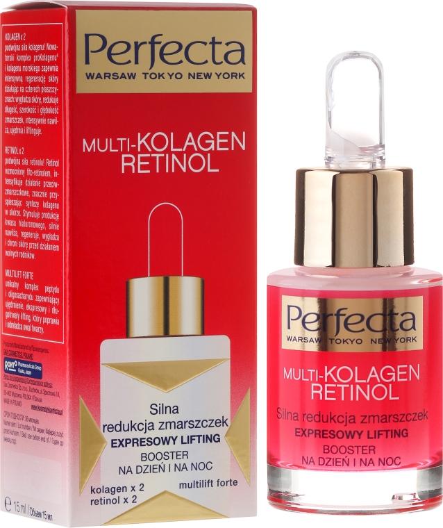 Бустер для лица - Perfecta Multi-Collagen Retinol Booster