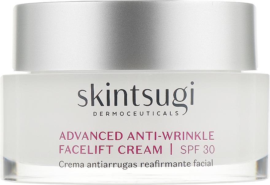 Подтягивающий крем для лица против морщин - Skintsugi Age Reverse Advanced Anti-Wrinkle Facelift Cream SPF30
