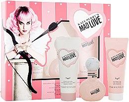 Духи, Парфюмерия, косметика Katy Perry Katy Perry's Mad Love - Набор (Edp/50ml + b/lotion/75ml + sh/gel/75ml)