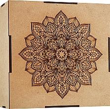 Духи, Парфюмерия, косметика Подарочный набор для антивозрастного ухода от 40 лет - Azazello (ser/2x10ml + f/jelly/10ml + massager/1pc + box)