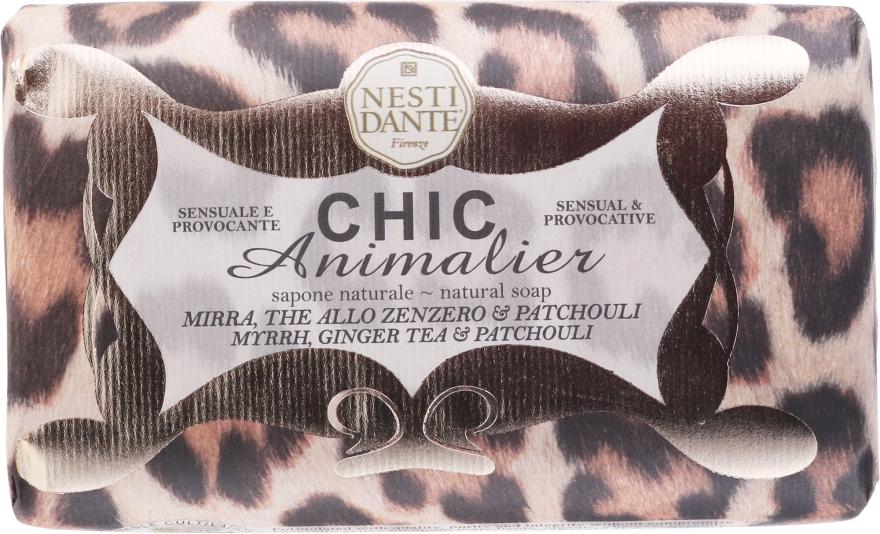 "Мыло ""Бронзовый Леопард"" - Nesti Dante Chic Animalier Soap"