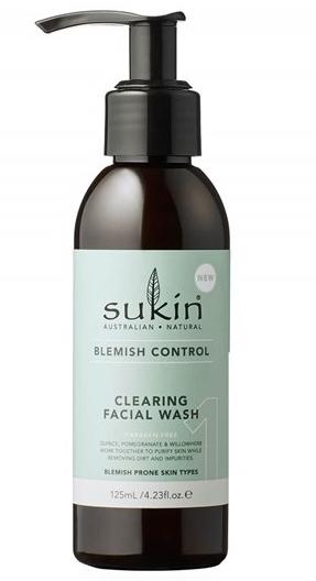 Очищающий гель для умывания - Sukin Blemish Control Clearing Facial Wash