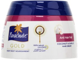 Духи, Парфюмерия, косметика Крем против выпадения с экстрактом чеснока - Biofarma Parachute Gold Hair Cream