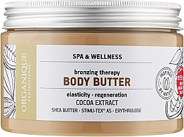 Духи, Парфюмерия, косметика Масло для тела с эффектом бронзового загара шоколадное - Organique Spa Therapie Chocolate Bronzing Body Butter