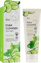 Духи, Парфюмерия, косметика Пенка для умывания с экстрактом огурца - Ekel Foam Cleanser Cucumber