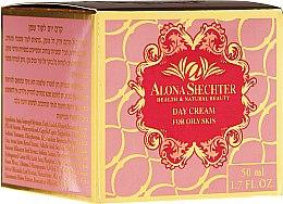 Духи, Парфюмерия, косметика Дневной крем для жирной кожи лица - Alona Shechter Day Cream For Oily Skin