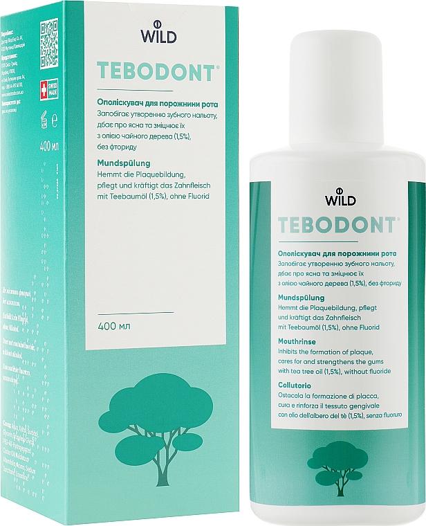Ополаскиватель для полости рта с маслом чайного дерева - Dr. Wild Tebodont
