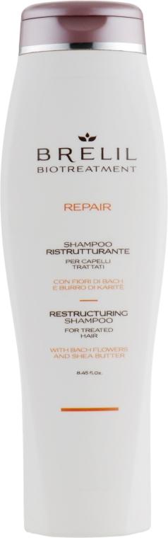 Шампунь восстанавливающий - Brelil Bio Treatment Repair Shampoo