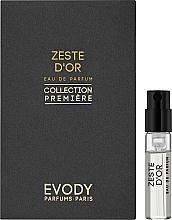 Духи, Парфюмерия, косметика Evody Zeste d'Or - Парфюмированная вода (пробник)