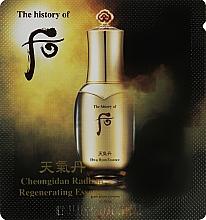 Духи, Парфюмерия, косметика Концентрированная восстанавливающая эссенция - The History of Whoo Radiant Regenerating Essence Hwa Hyun (пробник)