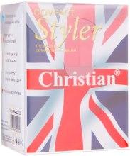 """Расческа для волос с технологией Тангл Тизер """"Compact Style"""", светло-розовая - Christian — фото N5"""
