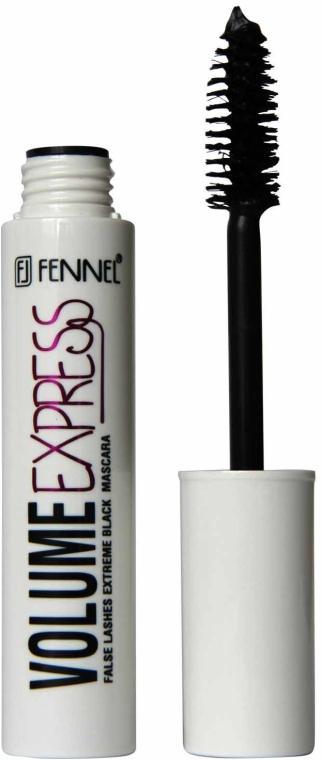 Тушь для ресниц с нейлоновой щеточкой - Fennel Volume Express False Lashes Extreme Mascara