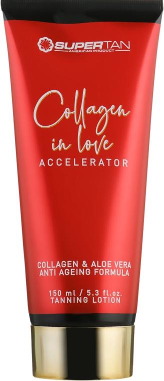 Крем для загара в солярии - Supertan Collagen In Love Accelerator