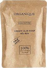 Духи, Парфюмерия, косметика Органическое твердое мыло с зеленой глиной для жирной кожи - Organique Pure Nature Soap