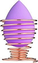 Духи, Парфюмерия, косметика Спонж для макияжа на подставке-спираль, PF-56, фиолетовый - Puffic Fashion