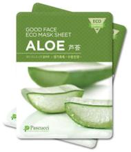 Духи, Парфюмерия, косметика Набор - Pascucci Essence Eco Mask Sheet Aloe Moisture Skin Care Facial Pack (mask/23ml*6pcs)