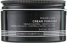Парфумерія, косметика Помада-крем для укладок з натуральною текстурою, для чоловіків - Redken Brews Cream Pomade