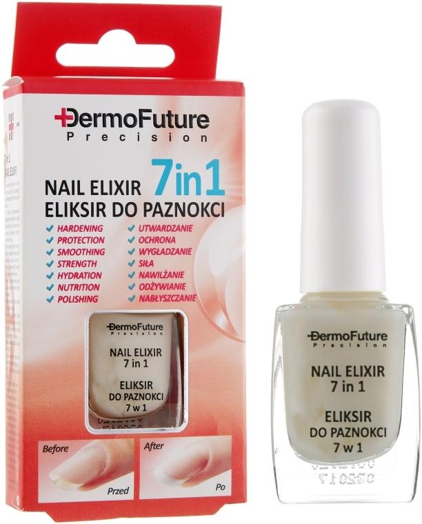 Питательный эликсир для ногтей 7в1 - DermoFuture Precision Nail Elixir 7in1