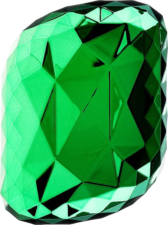 Щетка для волос, зеленая - Twish Spiky Hair Brush Model 4 Diamond Green