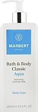 Духи, Парфюмерия, косметика Молочко для тела - Marbert Bath & Body Classic Aqua Soft Body Milk
