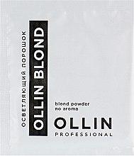 Духи, Парфюмерия, косметика Осветляющий порошок без аромата - Ollin Professional Color Blond Powder No Aroma