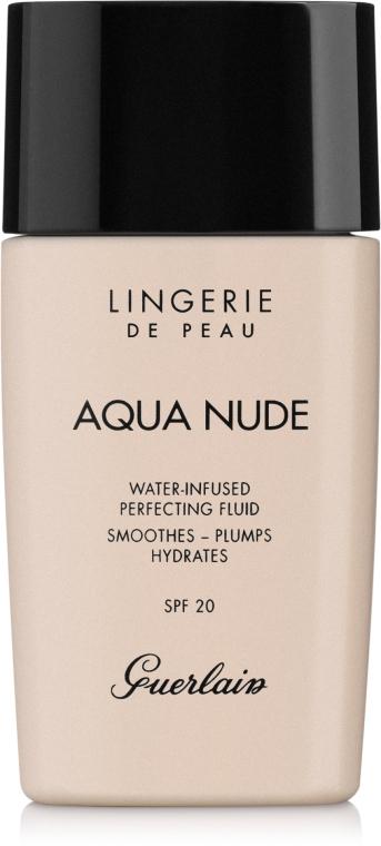 Увлажняющий тональный флюид - Guerlain Lingerie de Peau Aqua Nude