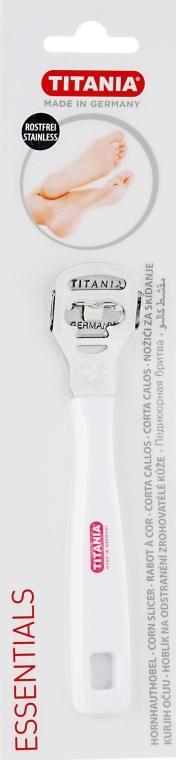 Станок педикюрный, из нерж. стали, белый - Titania