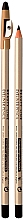 Духи, Парфюмерия, косметика Контурный карандаш для глаз с точилкой - Eveline Cosmetics Eyeliner Pencil