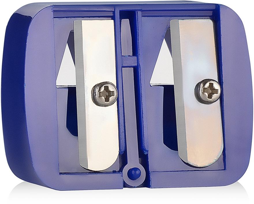 Точилка двойная, синяя - Malva Cosmetics