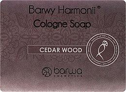 """Духи, Парфюмерия, косметика Мыло """"Кедр"""" - Barwa Harmony Cedar Wood Soap"""