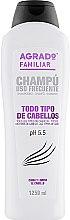 """Духи, Парфюмерия, косметика Шампунь для всех типов волос """"Семейный"""" - Agrado Family Shampoo"""