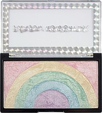 Духи, Парфюмерия, косметика Хайлайтер для лица - Makeup Revolution Rainbow Highlighter
