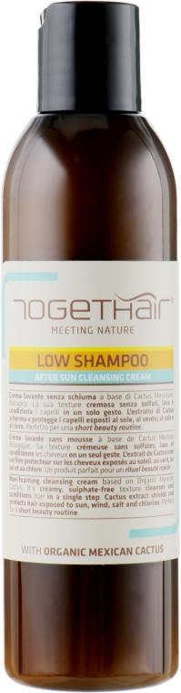 Бессульфатный шампунь-крем для волос после пребывания на солнце - Togethair Meeting Nature Low Shampoo