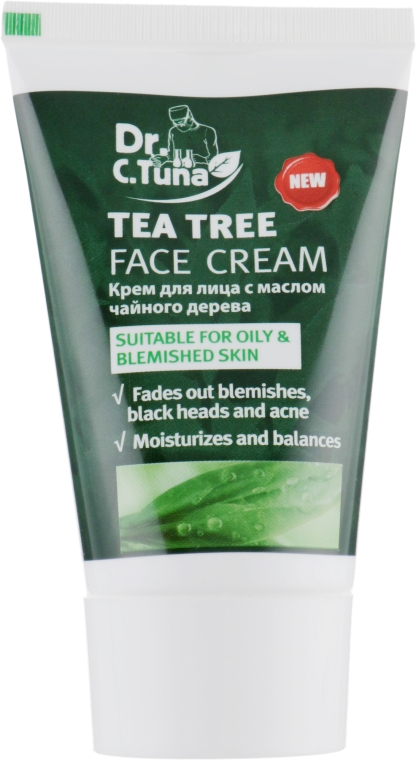 Крем для лица с маслом чайного дерева - Farmasi Dr. C. Tuna Tea Tree Face Cream