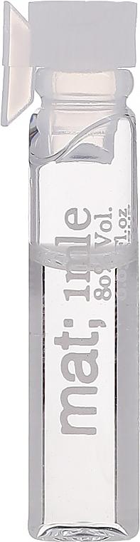 Masaki Matsushima Mat - Парфюмированная вода (пробник)