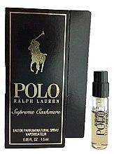 Духи, Парфюмерия, косметика Ralph Lauren Polo Supreme Cashmere - Парфюмированная вода (пробник)