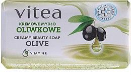 Духи, Парфюмерия, косметика Крем-мыло оливковое - Vitea Cream Soap