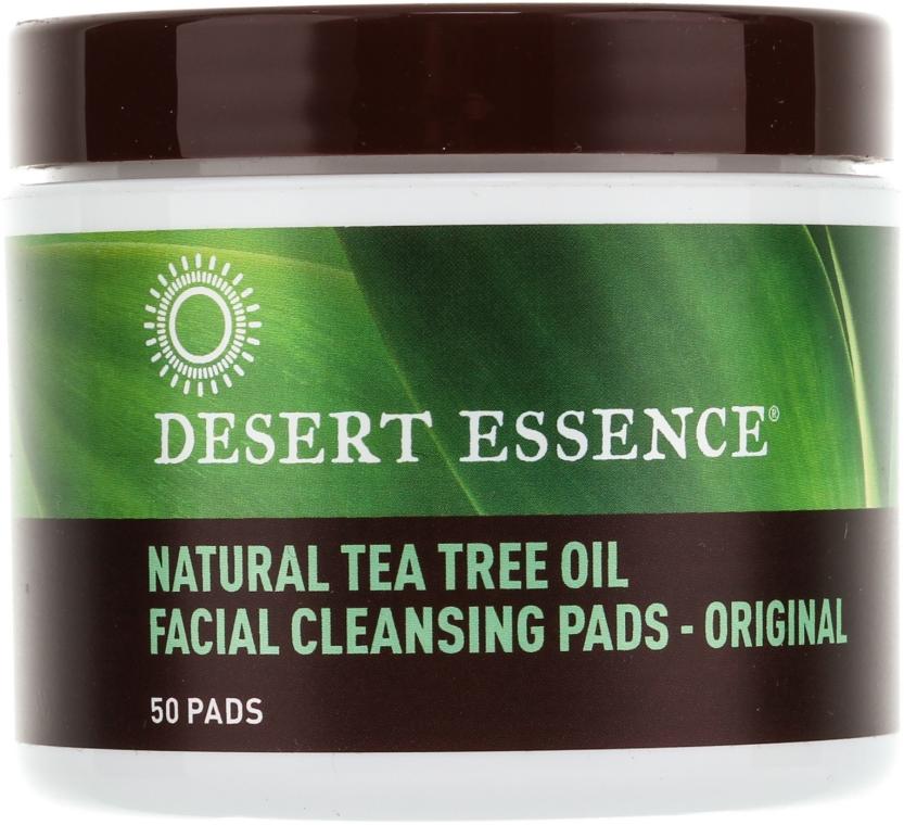 Ватные диски для очищения лица - Desert Essence Facial Cleansing Pads