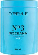 Духи, Парфюмерия, косметика Маска для жирных волос - O'Revle Bioceana №3 Mask