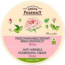 "Духи, Парфюмерия, косметика Крем для лица ""Роза"" - Green Pharmacy Anti-Wrinkle Nourishing Cream"