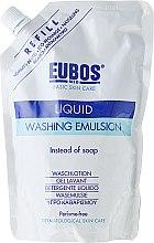 Парфумерія, косметика Емульсія для душу - Eubos Med Basic Skin Care Liquid Washing Emulsion (змінний блок)