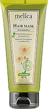 Духи, Парфюмерия, косметика Питательная маска для волос с растительными экстрактами и пантенолом - Melica Organic Nourishing Hair Mask