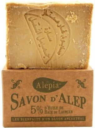 Мыло лавровым маслом, 5% - Alepia Soap 5% Laurel — фото N1